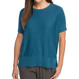 NWT eileen Fisher tencel merino knit Nile top PP